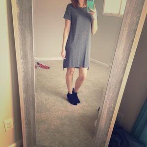 Mossimo Grey Skater Dress M